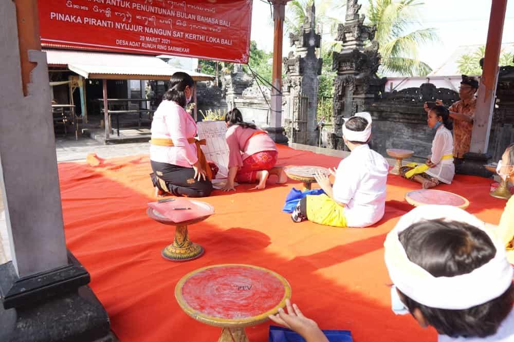 03. Pacentokan Bulan Bahasa Bali Ketiga Tahun 2021